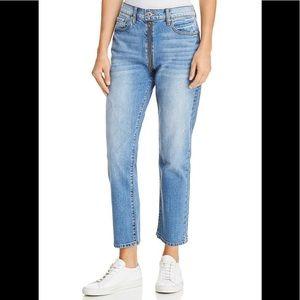 Pistola Charlie High Rise Straight Leg Denim Jeans